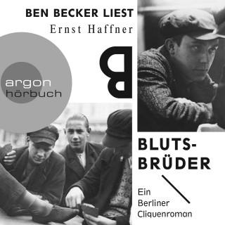 Ernst Haffner: Blutsbrüder