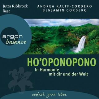 Benjamin Cordero, Andrea Kalff-Cordero: Ho´oponopono