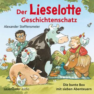 Alexander Steffensmeier: Der Lieselotte Geschichtenschatz - Die bunte Box mit sieben Abenteuern (Ungekürzte Lesung)