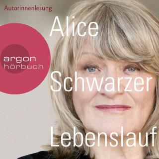 Alice Schwarzer: Lebenslauf (Gekürzte Lesung)