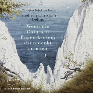 Friedrich Christian Delius: Wenn die Chinesen Rügen kaufen, dann denkt an mich (Ungekürzte Lesung)