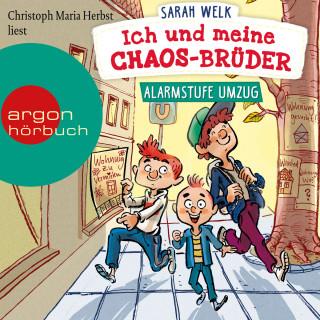 Sarah Welk: Alarmstufe Umzug - Ich und meine Chaos-Brüder, Band 1 (Ungekürzte Lesung mit Musik)