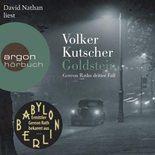 Volker Kutscher: Goldstein - Gereon Raths dritter Fall (Ungekürzte Lesung)
