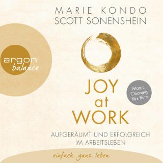 Marie Kondo, Scott Sonenshein: Joy at Work - Aufgeräumt und erfolgreich im Arbeitsleben (Ungekürzte Lesung)