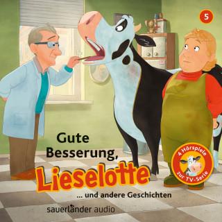 Alexander Steffensmeier, Fee Krämer: Lieselotte Filmhörspiele, Folge 5: Gute Besserung, Lieselotte (Vier Hörspiele)