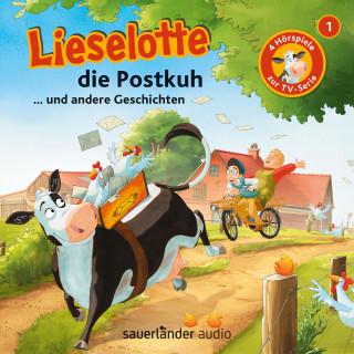 Alexander Steffensmeier, Fee Krämer: Lieselotte Filmhörspiele, Folge 1: Lieselotte die Postkuh (Vier Hörspiele)