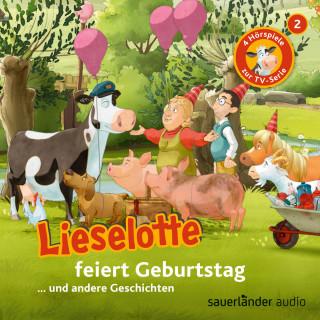 Alexander Steffensmeier, Fee Krämer: Lieselotte Filmhörspiele, Folge 2: Lieselotte feiert Geburtstag (Vier Hörspiele)