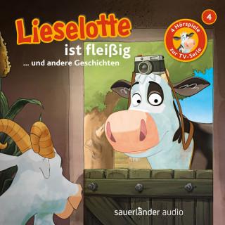 Alexander Steffensmeier, Fee Krämer: Lieselotte Filmhörspiele, Folge 4: Lieselotte ist fleißig (Vier Hörspiele)