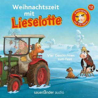 Alexander Steffensmeier, Fee Krämer: Lieselotte Filmhörspiele, Folge 12: Weihnachtszeit mit Lieselotte (Vier Hörspiele)