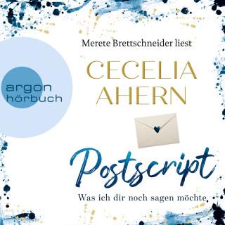 Cecelia Ahern: Postscript - Was ich dir noch sagen möchte (Ungekürzte Lesung)