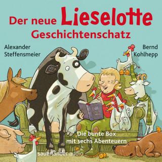 Alexander Steffensmeier: Der neue Lieselotte Geschichtenschatz - Die bunte Box mit sechs Abenteuern (Ungekürzte Lesung)