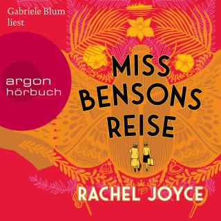 Rachel Joyce: Miss Bensons Reise (Ungekürzte Lesung)