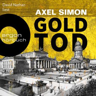 Axel Simon: Goldtod - Gabriel Landow, Band 2 (Ungekürzt)