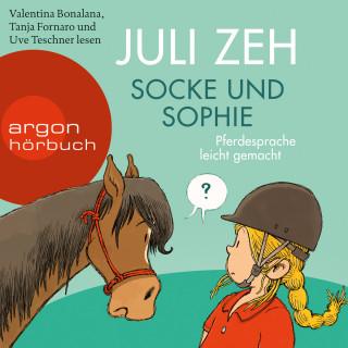 Juli Zeh: Socke und Sophie - Pferdesprache leicht gemacht (Ungekürzt)