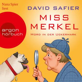 David Safier: Miss Merkel - Mord in der Uckermark (Gekürzt)