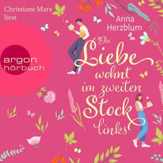 Anna Herzblum: Die Liebe wohnt im zweiten Stock links (Ungekürzt)