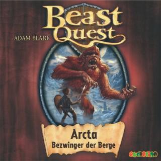 Adam Blade: Beast Quest (3): Arcta, Bezwinger der Berge