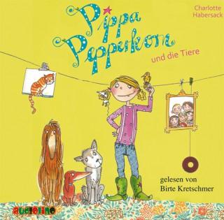 Charlotte Habersack: Pippa Pepperkorn und die Tiere