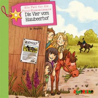 Belinda Rapley: Ein Fall für die Pony-Kommissare (1): Die Vier vom Blaubeerhof