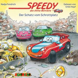 Nadja Fendrich: Speedy, das kleine Rennauto (3): Der Schatz vom Schrottplatz