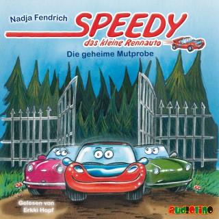 Nadja Fendrich: Speedy, das kleine Rennauto (2): Die geheime Mutprobe