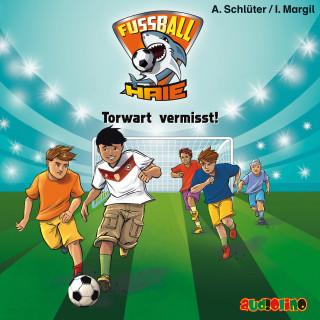 Andreas Schlüter, Irene Margil: Fußball-Haie (7): Torwart vermisst!