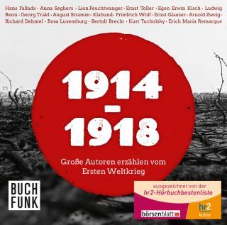 Diverse: 1914 - 1918 - Große Autoren erzählen vom Ersten Weltkrieg