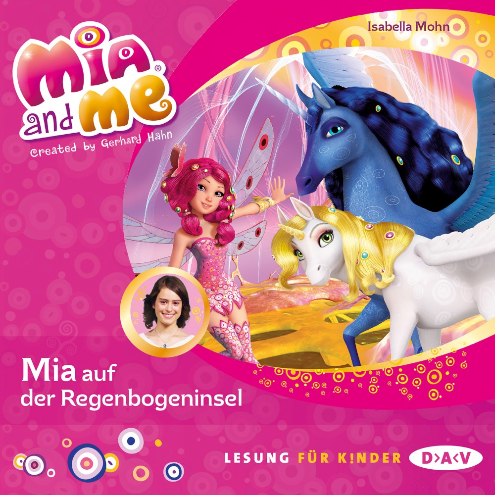 mia and me teil 24 mia auf der regenbogeninsel 1 cd. Black Bedroom Furniture Sets. Home Design Ideas