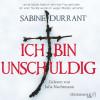 Sabine Durrant: Ich bin unschuldig
