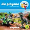 David Bredel, Florian Fickel: Die Playmos, Folge 56: Flucht vor dem T-Rex